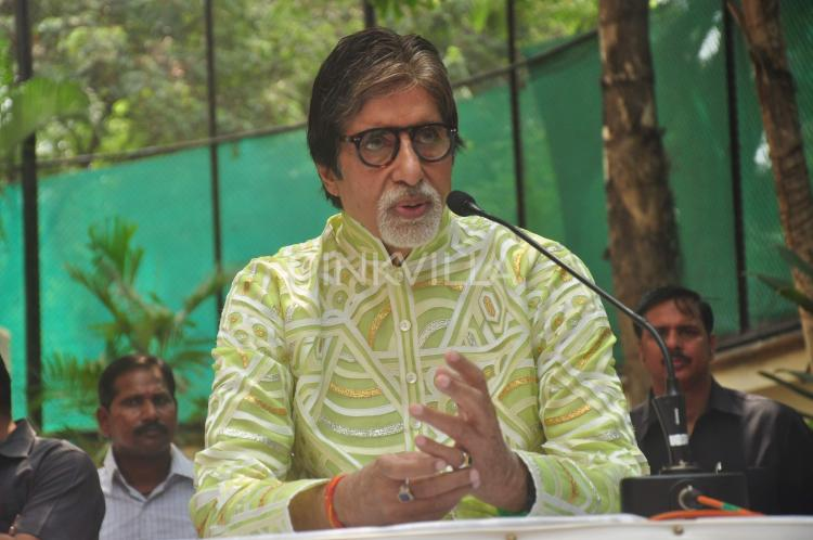 Amitabh Bachchan supports fire safety campaign called Chalo India