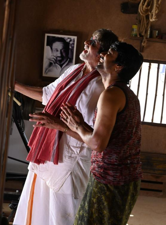 Superstar Amitabh Bachchan says he is a disciple of late southern superstar Sivaji Ganesan.