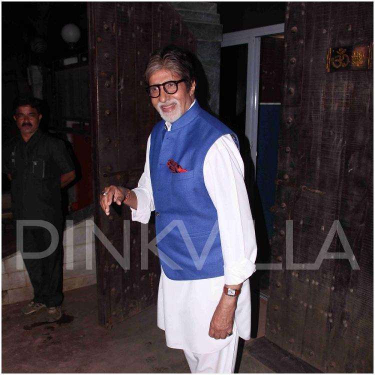Amitabh Bachchan pens down an emotional note on his grandson's graduation