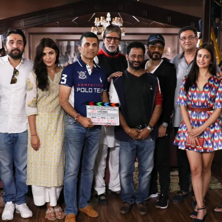 Amitabh Bachchan and Emraan Hashmi starrer mystery thriller titled 'Chehre' to go on floors today; View deets