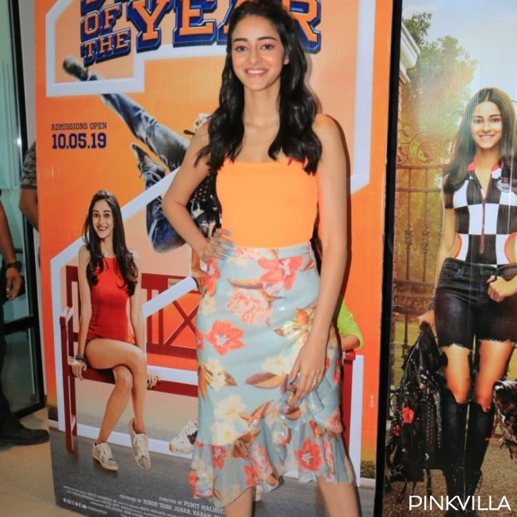 Student Of The Year 2 star Ananya Panday REVEALS the reason why social media trolling doesn't affect her