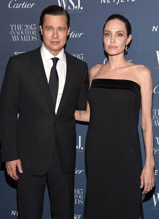 Angelina Jolie finds it difficult to let go of resentment towards Brad Pitt over their failed marriage?