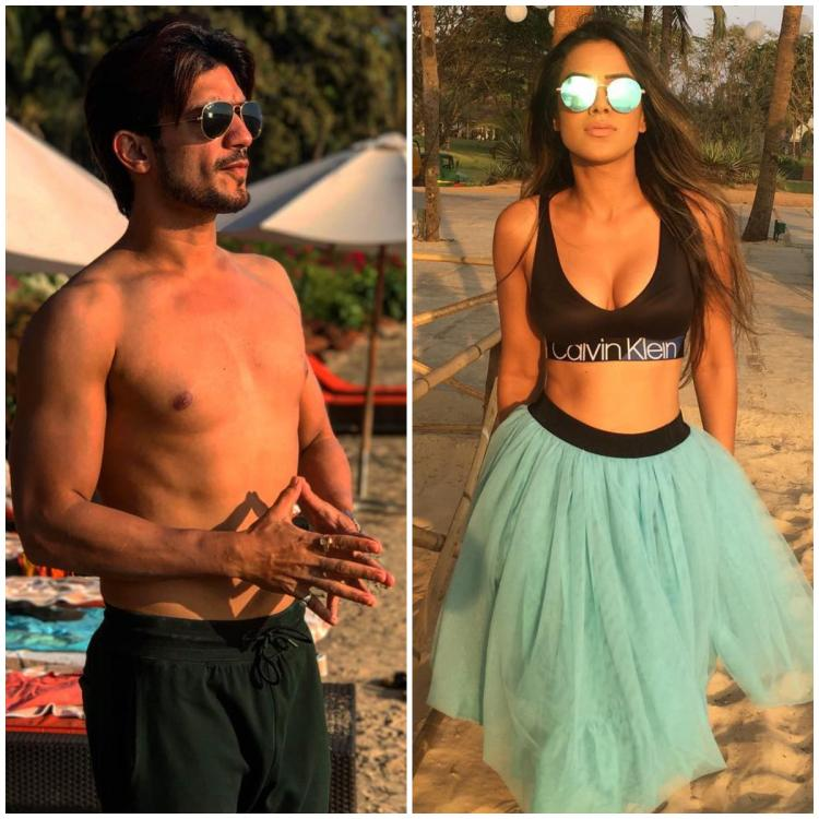Arjun Bijlani, Nia Sharma and Alisha Panwar shoot in Goa for their revenge drama show Ishq Mein Marjawan