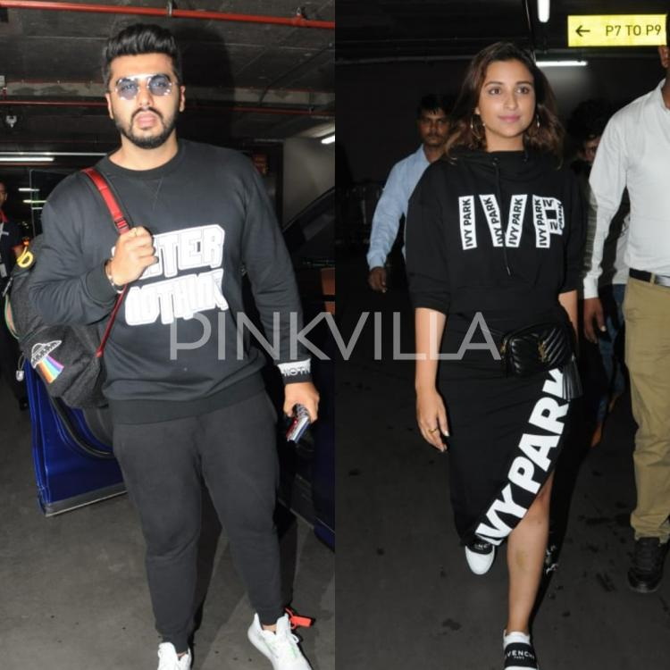 Photos,arjun kapoor,parineeti chopra,Namaste England