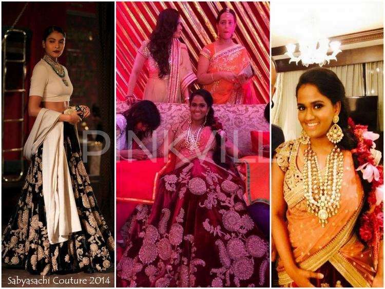 Yay Or Nay : Arpita Khan Wears Sabyasachi Couture For Her