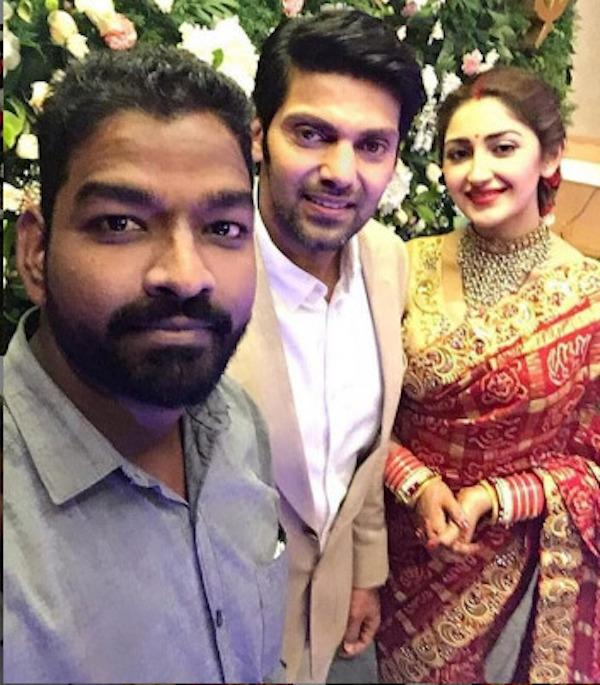 VIDEO: Arya and Sayyeshaa's wedding reception in Chennai was all about celebrations with family and friends