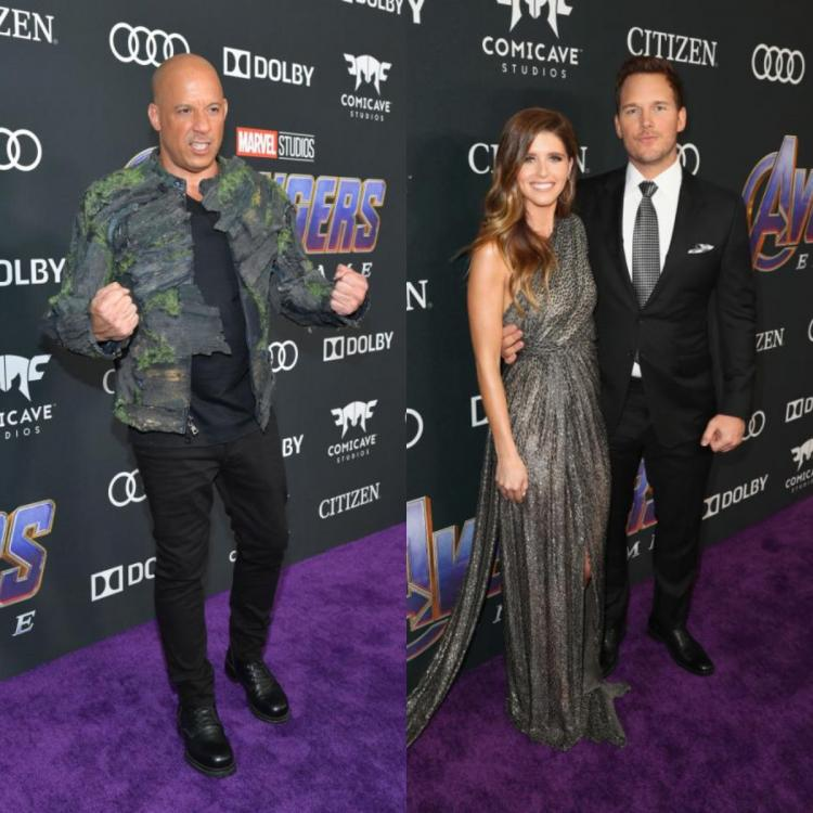 Vin Diesel,Chris Pratt,Avengers: Endgame,Groot,Hollywood