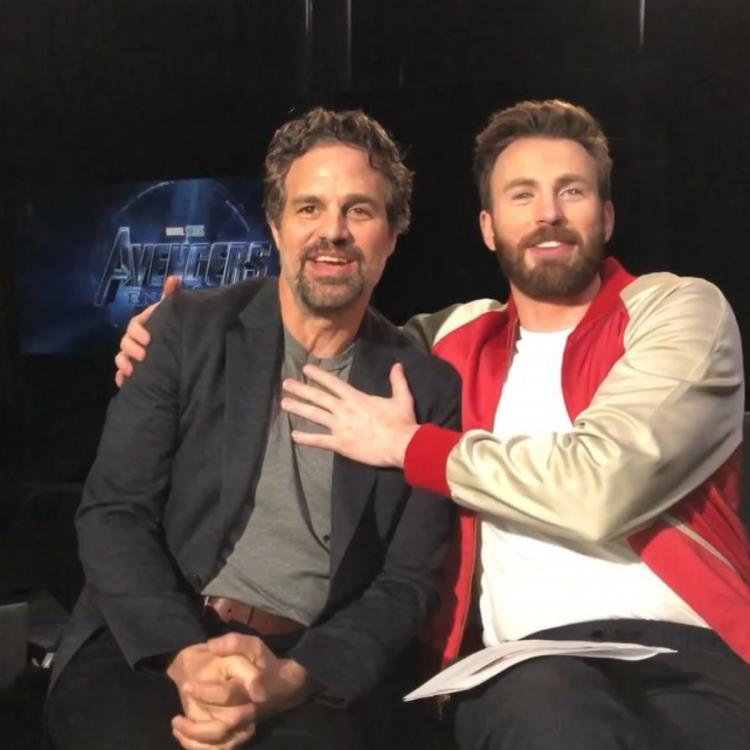 Chris Evans,Mark Ruffalo,Avengers: Endgame,Hollywood