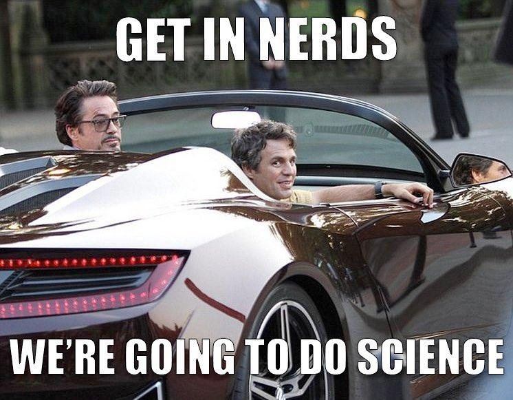 Mark Ruffalo shared a throwback photo with his science bro Robert Downey Jr. on Instagram.