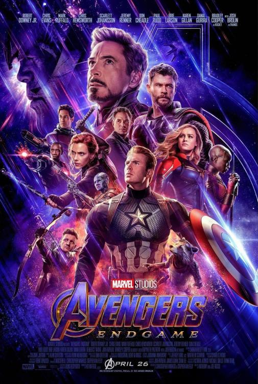 Avengers: Endgame released on April 26, 2019, in India.