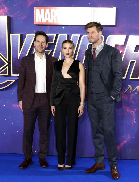 Scarlett Johansson,Chris Hemsworth,Avengers Endgame,Hollywood,paul rudd