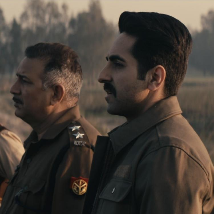 OMG! Ayushmann Khurrana continues to shoot Article 15's scene despite a leech attack in a swamp
