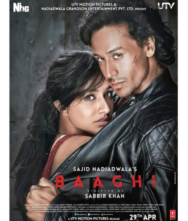 Baaghi:A rebel for love
