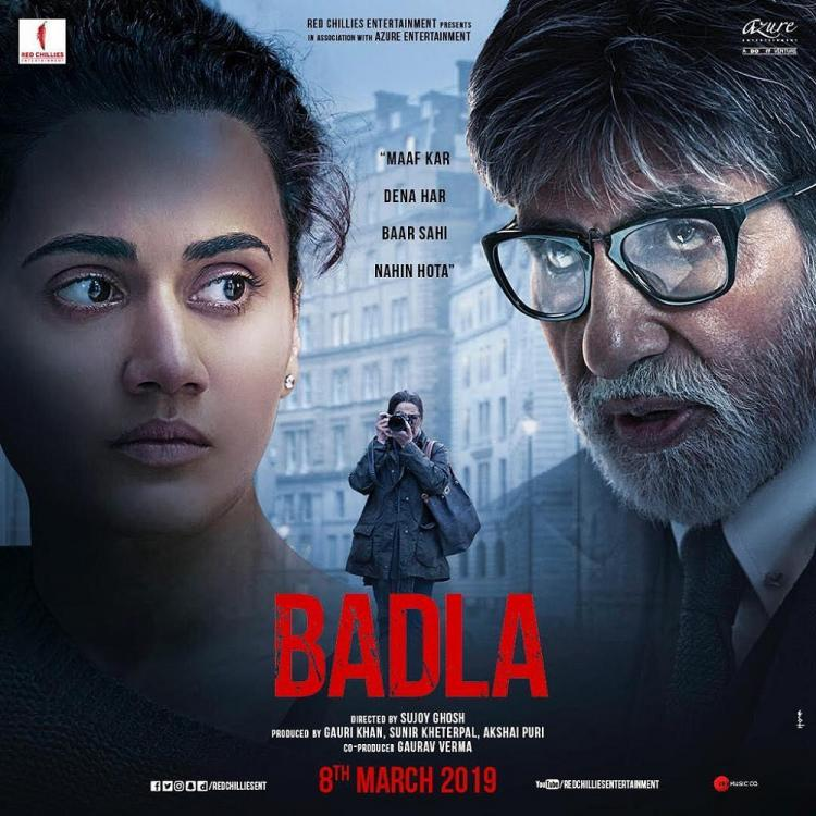 Badla Movie Review: Amitabh Bachchan, Taapsee Pannu flirt with truth in this gripping thriller by Sujoy Ghosh