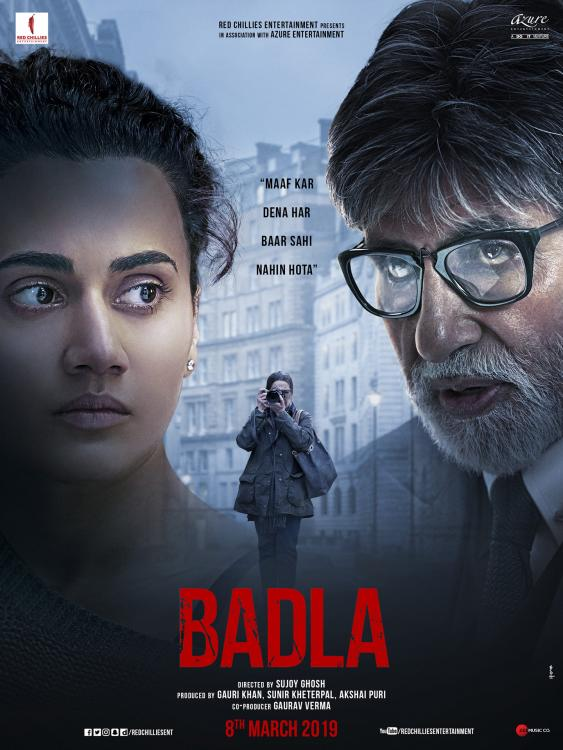 After Captain Marvel, Amitabh Bachchan and Taapsee Pannu starrer Badla LEAKED online by Tamilrockers