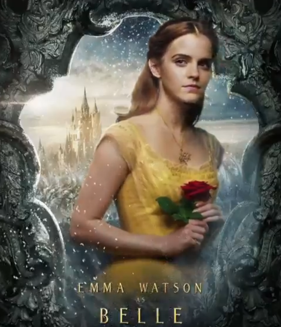 Emma Watsons Belle And Other Characters Motion Posters For Beauty The Beast Are Finally Out