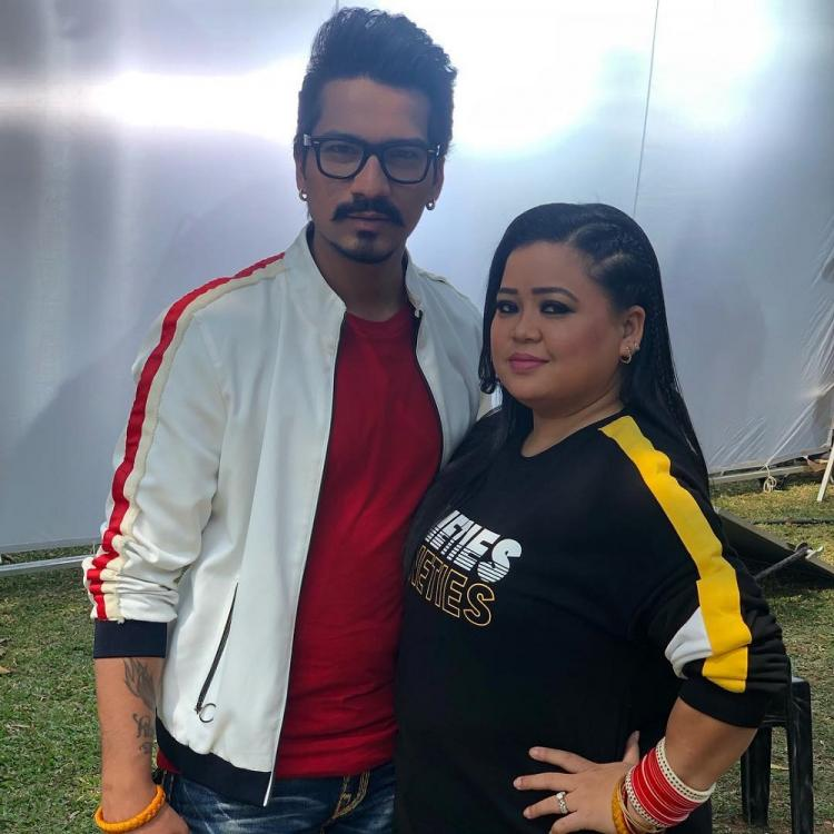 Bharti Singh and Haarsh Limbachiyaa named their future child after Vikas Gupta due to THIS reason