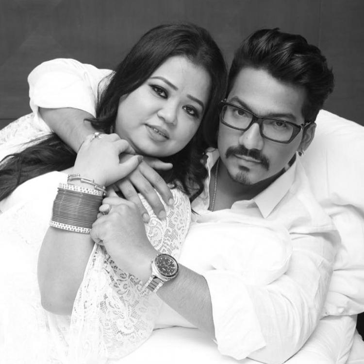 Bharti Singh and Haarsh Limbachiyaa hug it out in this Valentine's Day post; View Picture