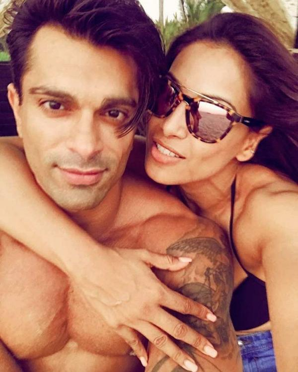 Bipasha Basu and Karan Singh Grover reunite on a beach to ...