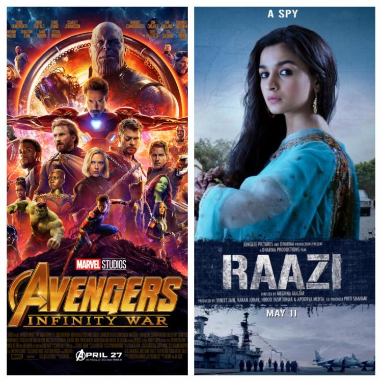 Box Office,Raazi,Avengers: Infinity War