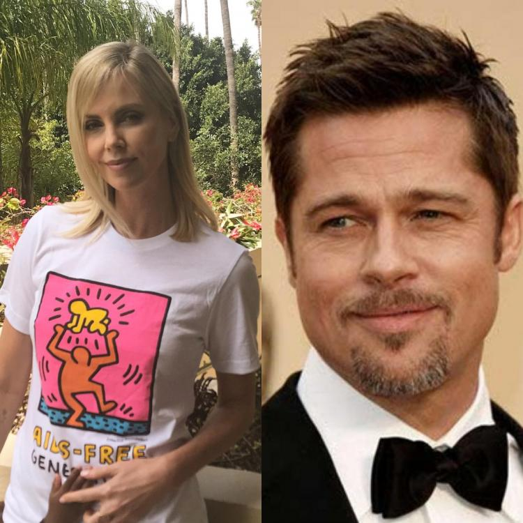Brad Pitt is moving in with rumoured girlfriend Charlize Theron?