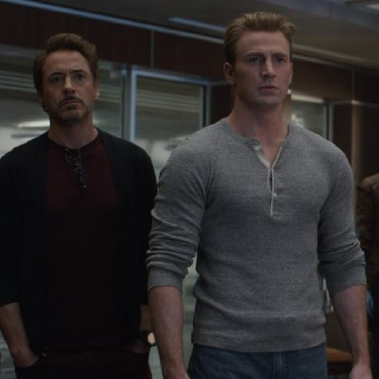 Avengers: Endgame Snippet: Iron Man and Captain America reunite and we can't keep calm