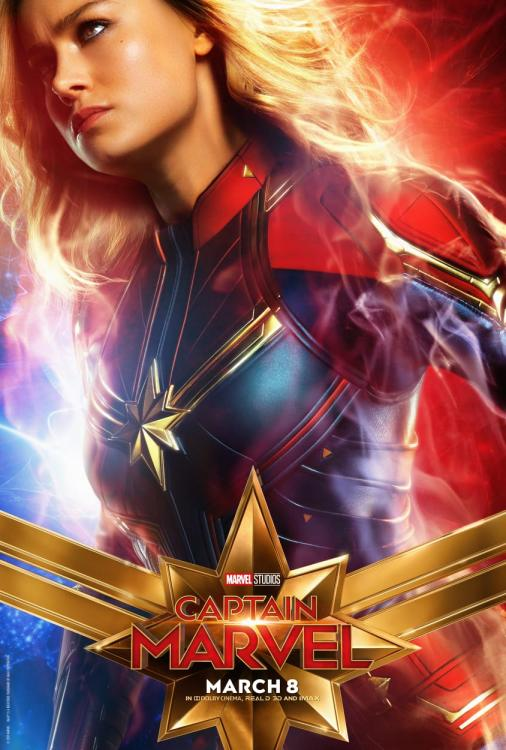 Check out the news posters from Brie Larson, Jude Law and Samuel L Jackson starrer Captain Marvel.