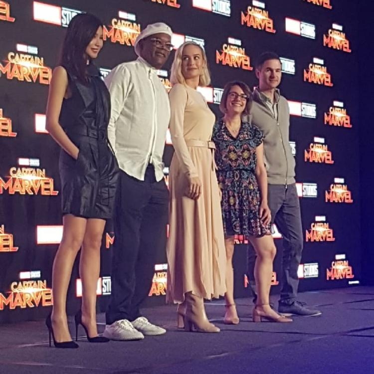 Captain Marvel Press Conference: Brie Larson and Samuel L Jackson dazzle the Asian crowd