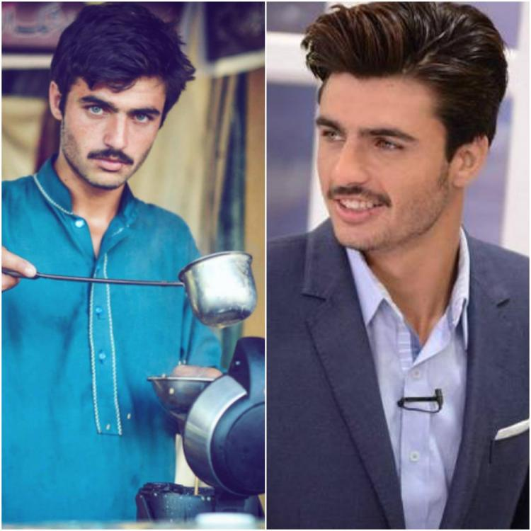 Omg Pakistani Blue-Eyed Chaiwala Arshad Khan Signs His -7338