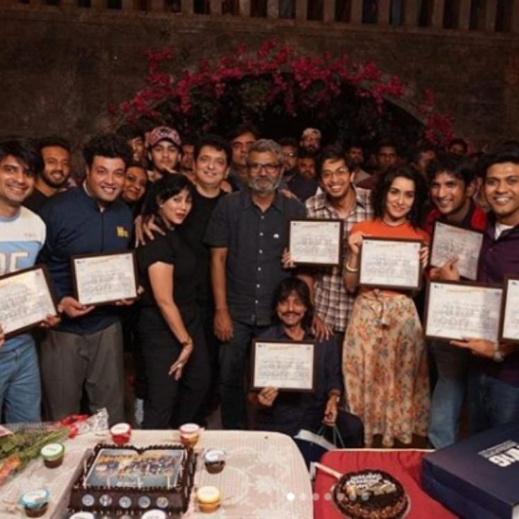 Shraddha Kapoor shares a heartfelt message post wrapping up the shoot of upcoming film Chhichhore; See PICS