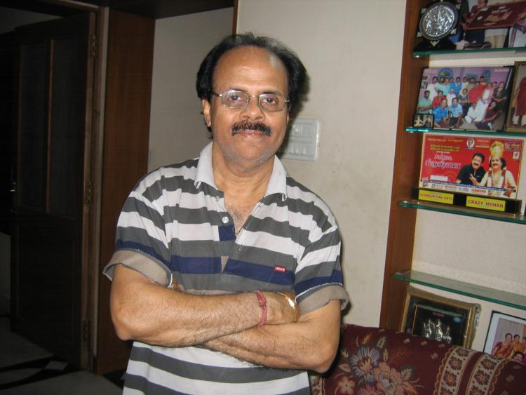 Comedian and legend actor Crazy Mohan passes away in Chennai; celebs mourn his death