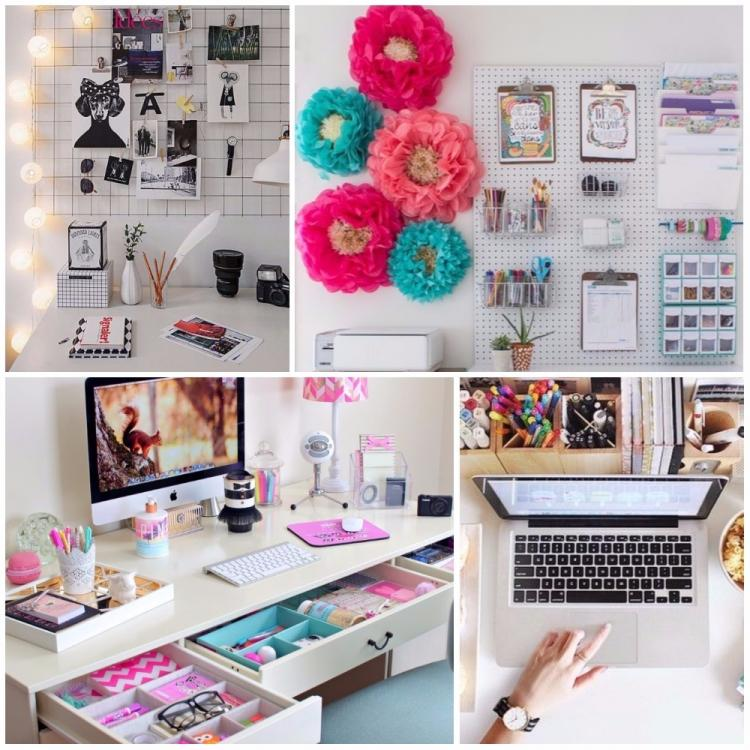 11 Desk organisation ideas to make your office space more inspired and pretty