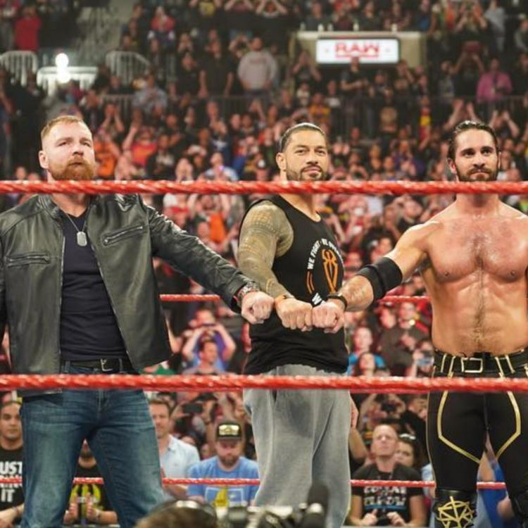 Dean Ambrose wrestles his last match in WWE and gets a perfect Shield send-off from Seth Rollins and Roman Reigns.