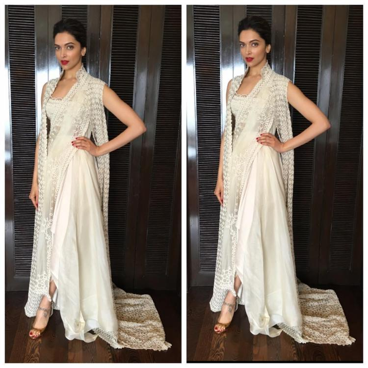 Oh my! Deepika wears her saree with a twist and we are dazzled ...