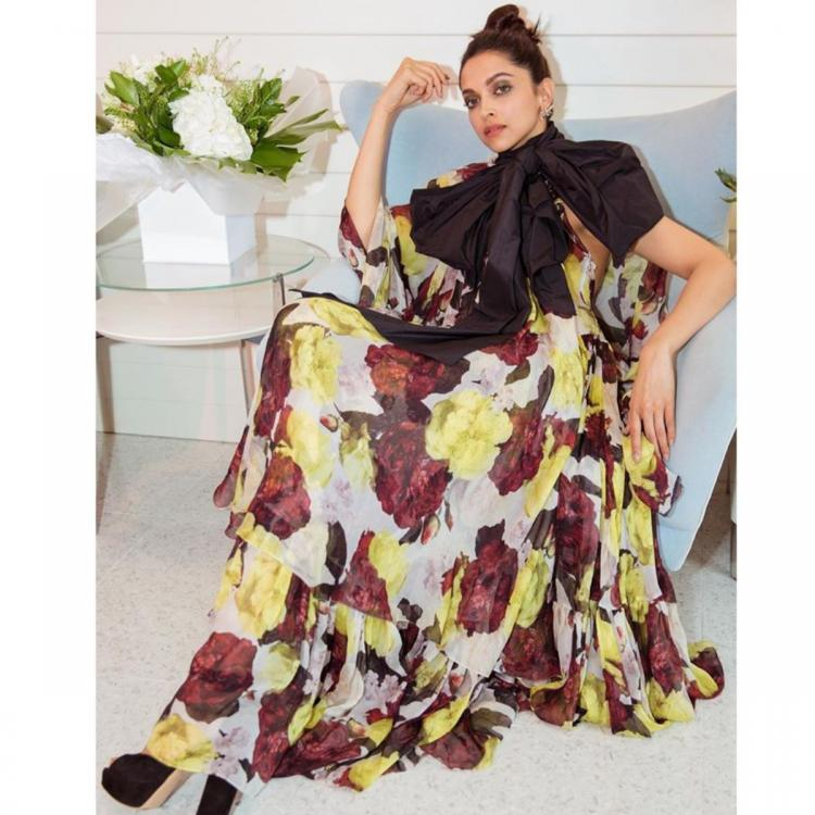 Cannes 2019: Deepika Padukone is UNSTOPPABLE; Channels the summer vibe in a floral gown for her fourth OOTD