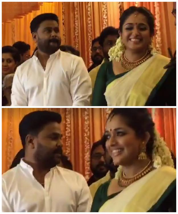 Malayalam Actor Dileep Gets Married To Actress Kavya Madhavan In An Intimate Ceremony