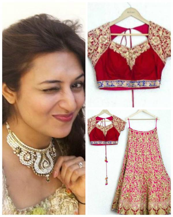 Have A Look At Divyanka S Wedding Dress And Jewellery