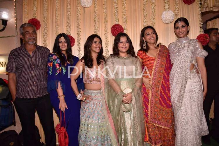 Ekta Kapoor Hosted A Star Studded Pre Diwali Bash At Her Residence Last Night That Was Attended By The Whos Who Of Bollywood Which Included Akshay Kumar