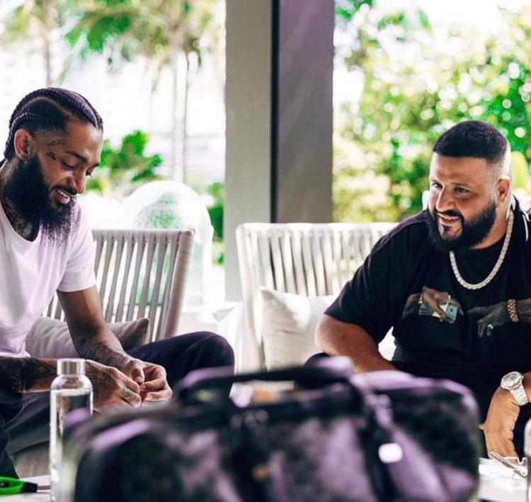 DJ Khaled honours Nipsey Hussle; says he will donate all proceeds of Higher to Hussle's children