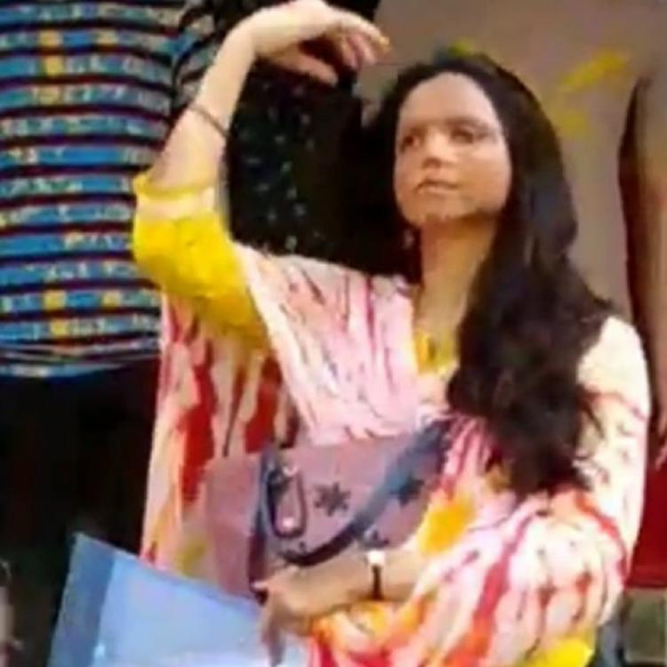 Deepika Padukone and Vikrant Massey's on set video LEAKED while shooting Chhapaak in Delhi; check it out
