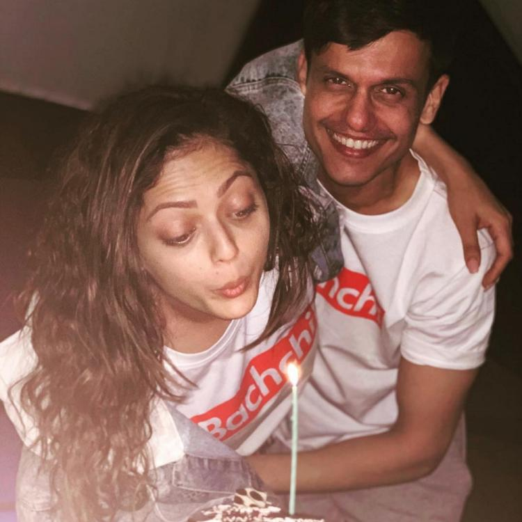 Drashti Dhami is a complete 'Bachchi' around her hubby Neeraj Khemka and these adorable photos are a proof