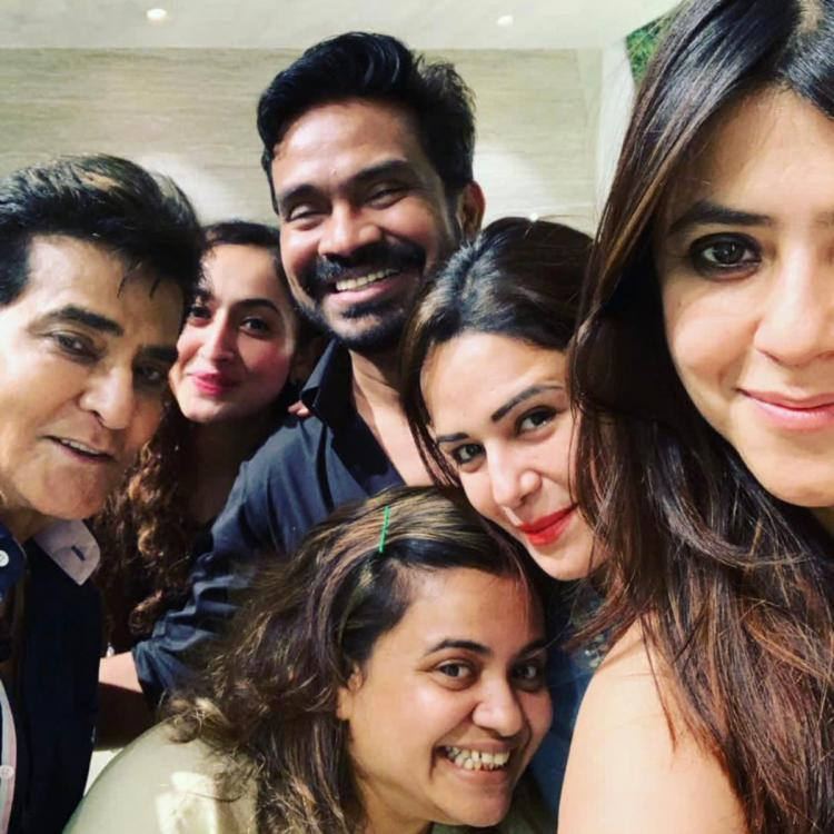 Jeetendra Pre-Birthday Bash: Anita Hassanandini, Krystle D'souza, Mona Singh amongst others attend the bash