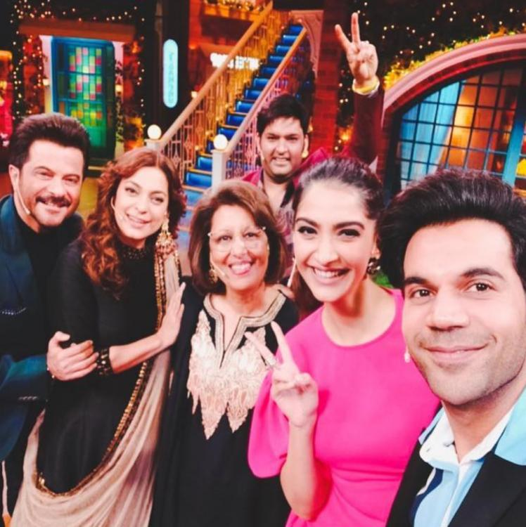 Ek Ladki Ko Dekha Toh Aisa Laga: Sonam, Anil Kapoor & Rajkummar Rao promote the film on The Kapil Sharma Show