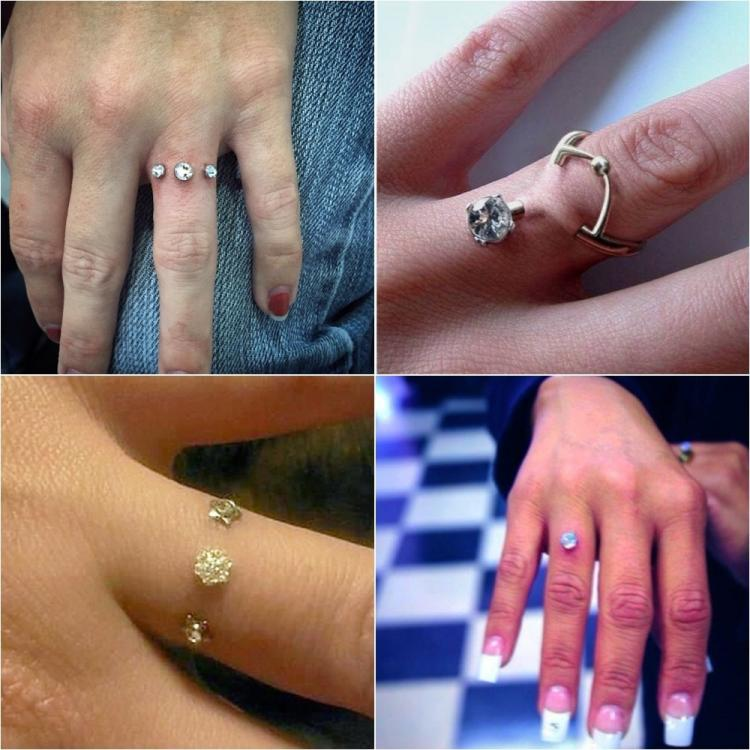 Engagement ring piercings are the latest social media trend and we ...