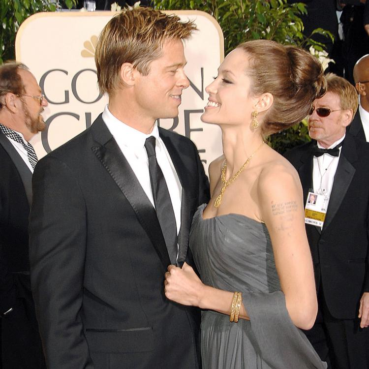 Angelina Jolie miffed with Brad Pitt over his and Charlize Theron's dating rumours?