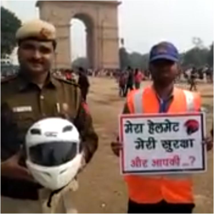 Delhi Traffic Police does something unbelievable to spread awareness about traffic safety; details inside