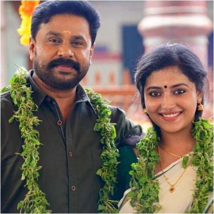 Dileep and Anu Sithara's look as a married couple from their film Shubharathri is going viral