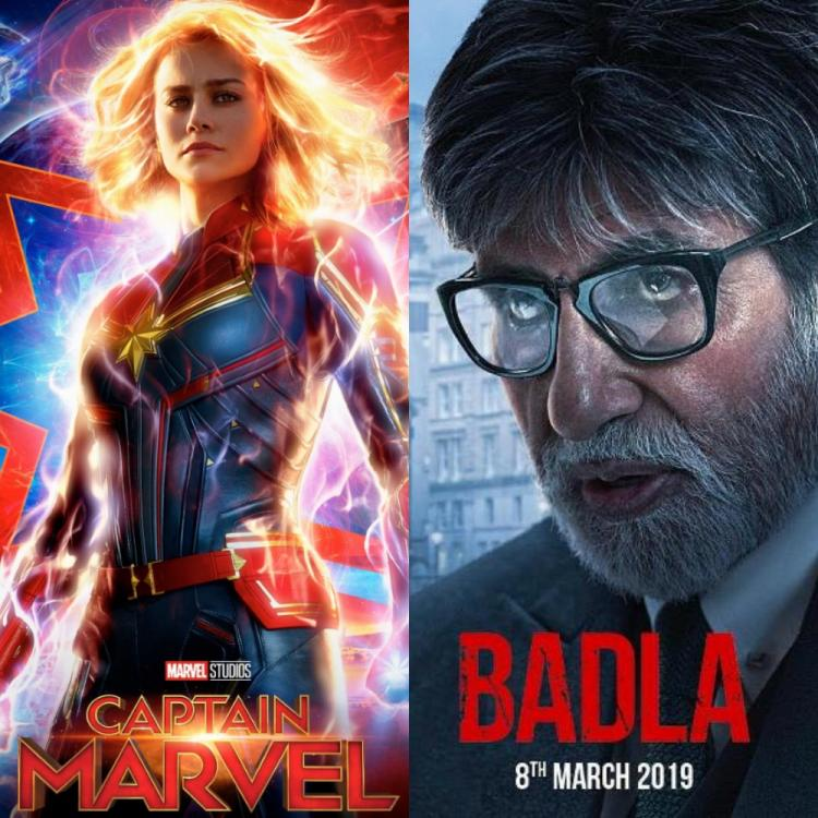 Friday Releases: Brie Larson's Captain Marvel to take on Amitabh Bachchan and Taapsee Pannu's Badla