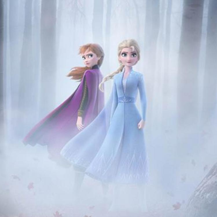 Frozen 2 NEW Poster: Elsa and Anna battle cold winds in the woods ahead of the new trailer release