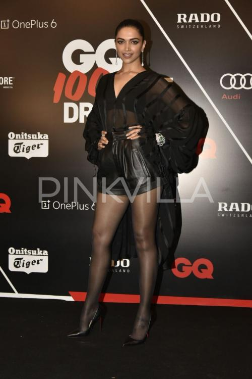 Gq 100 Best Dressed 2018 Deepika Padukone Brings Sexy In